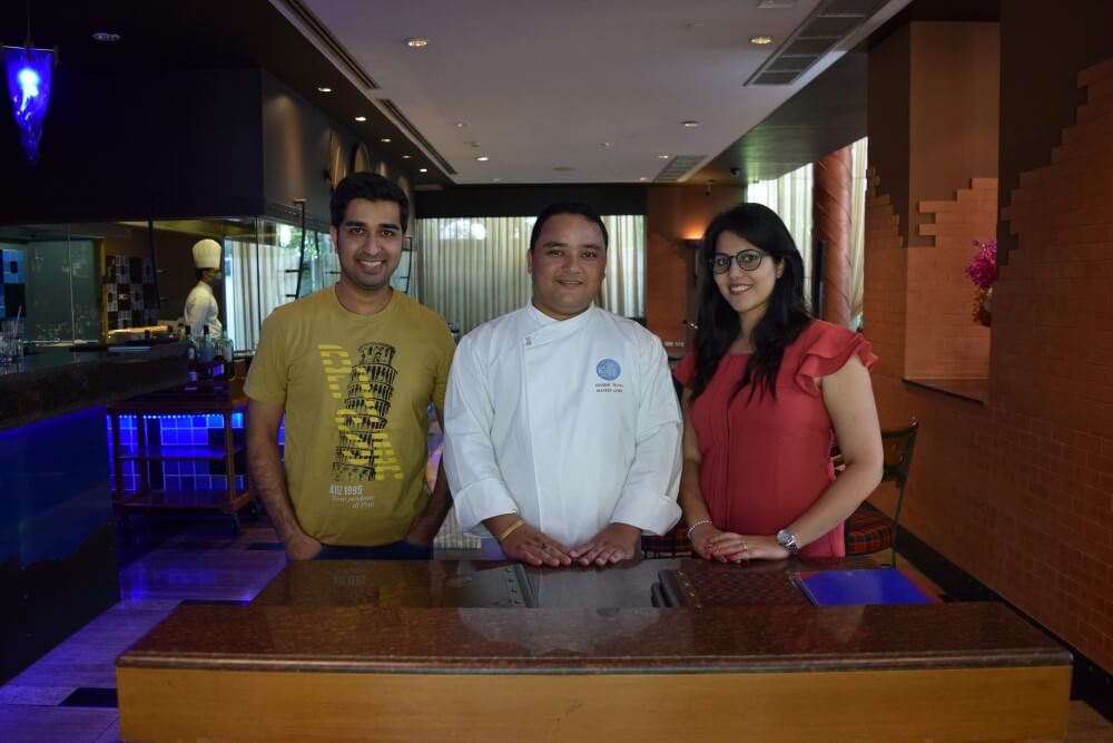 Chef Mahesh at TGKF Bangkok
