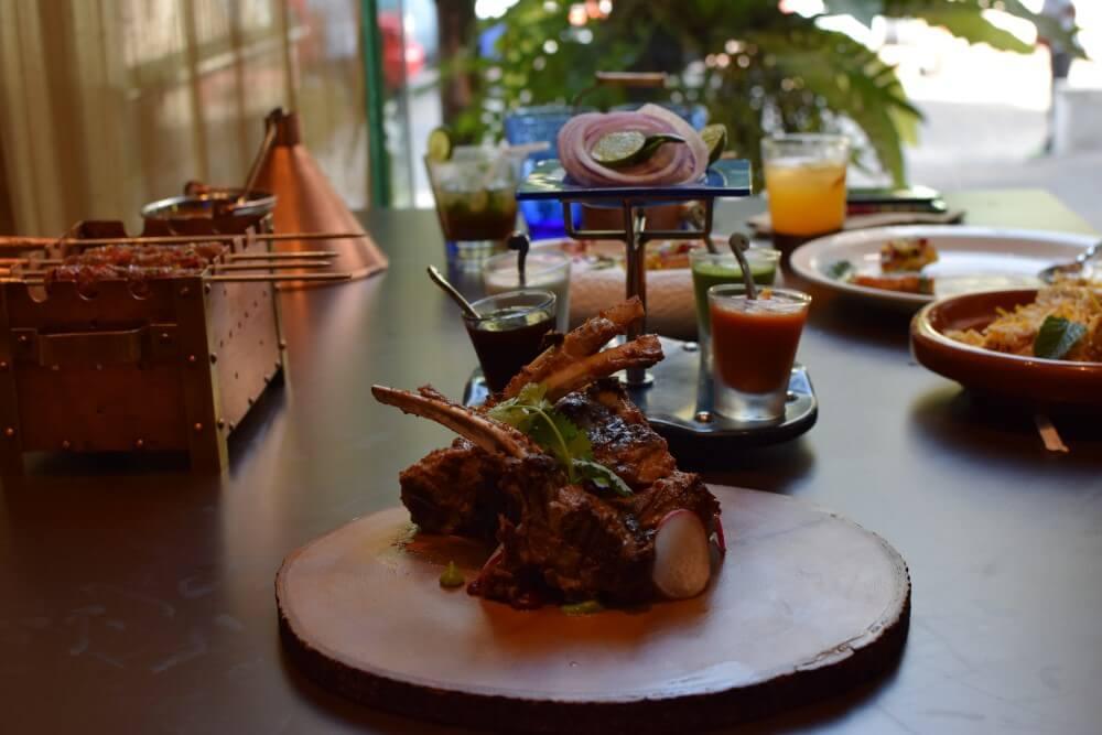 lamb chopstick