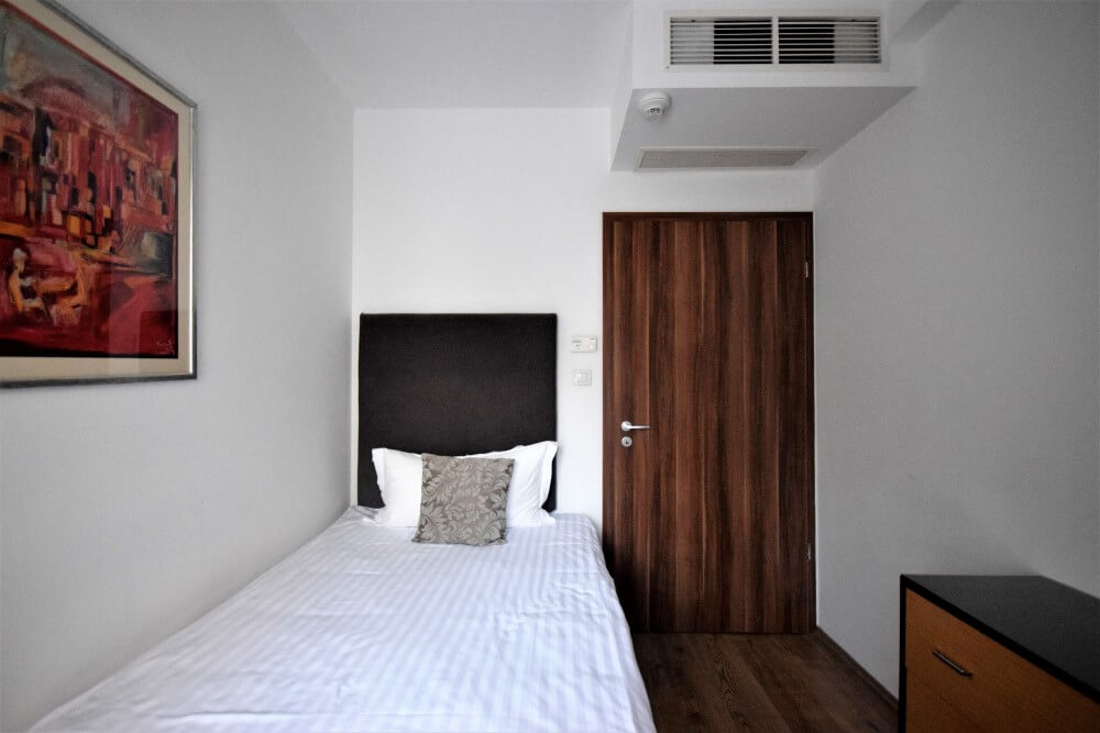 Bedroom fraser residence budapest
