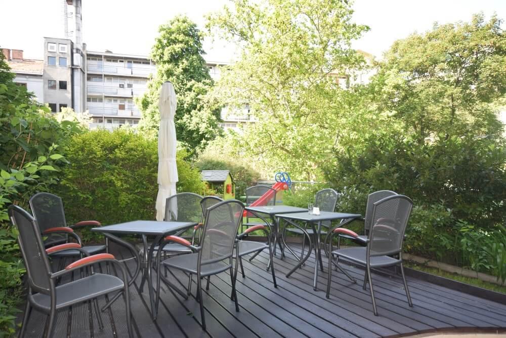 Fraser Residence Budapest garden