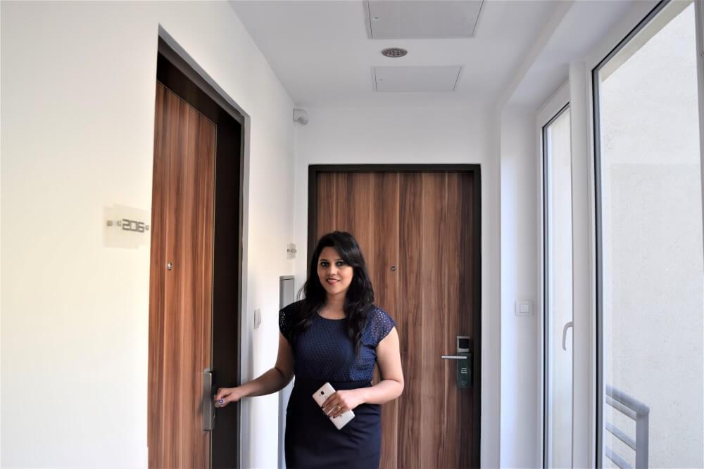 Room Lobby Fraser Residence Budapest