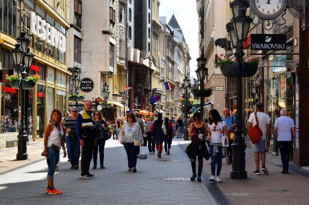Budapest Travel guide shopping