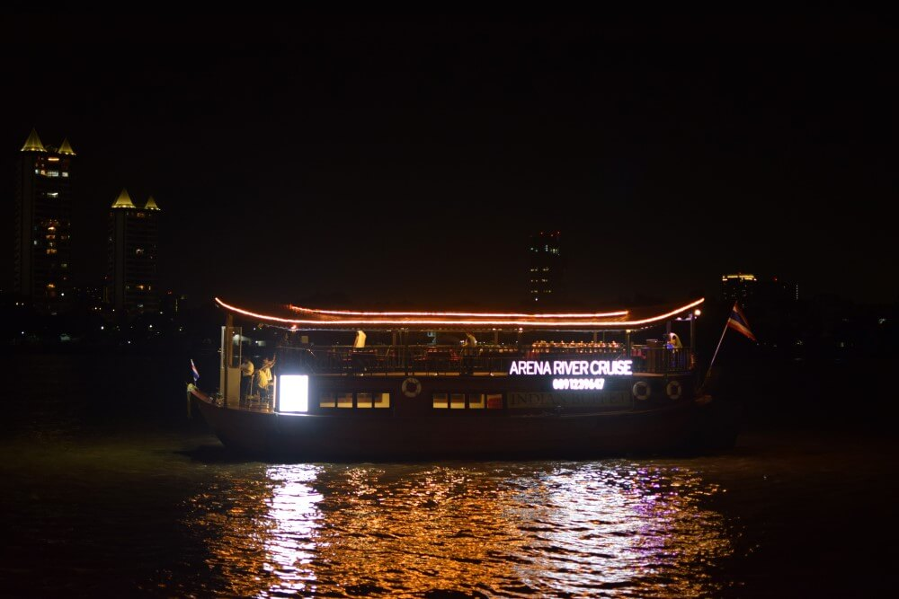 Arena Indian dinner cruise