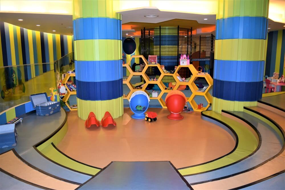 Kids zone at hotel