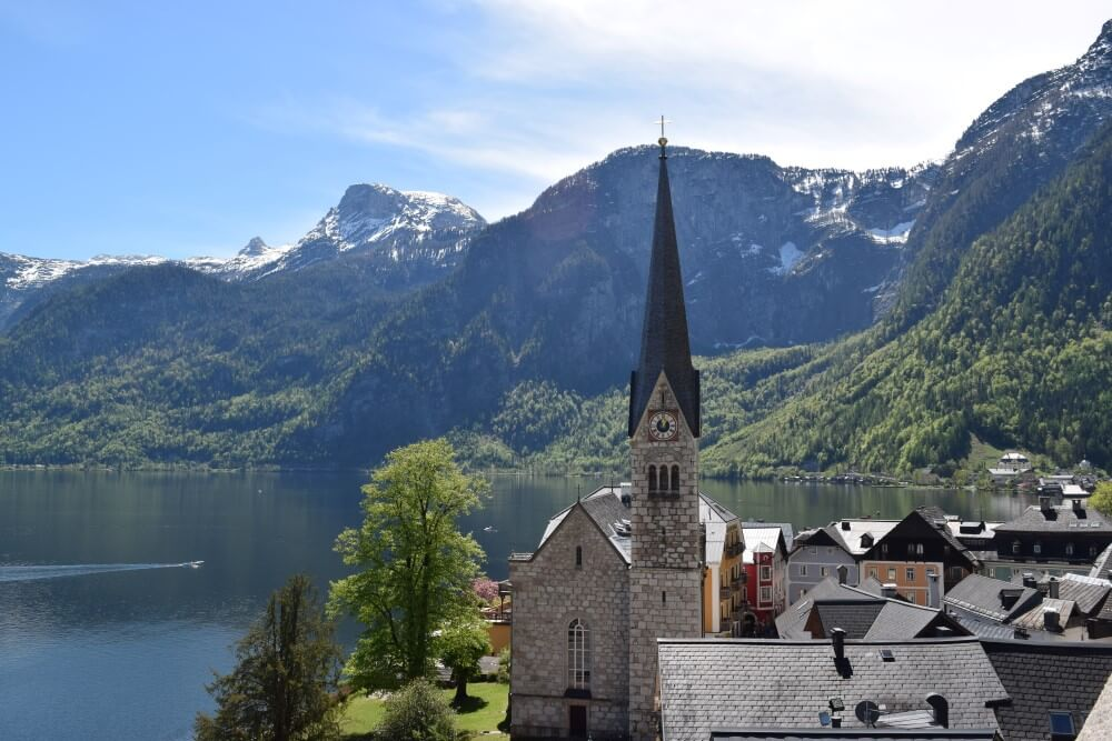 Breathtaking view of Hallstatt