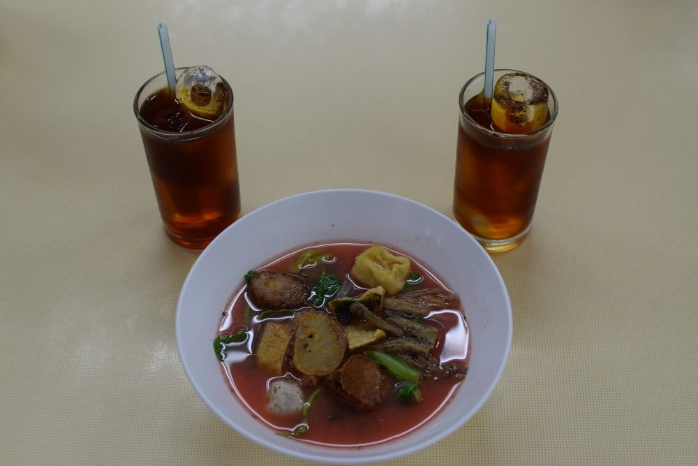 Chinese Pink Soup
