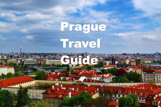 Prague Travel Guide Cover